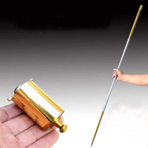 Portable Martial Arts Magic Pocket Staff High Quality Brand New Golden S... - $10.33