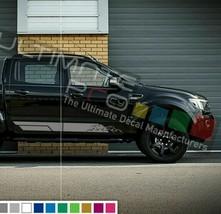 Side Stripes for Ford Ranger T6 2013 2014 2015 2016 2017 2019 bar mirror 4th gen - $40.47