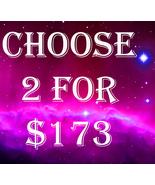FRI-SUN PICK 2 FOR $173 INCLUDES NO DEALS & MYSTICAL TREASURES - $0.00