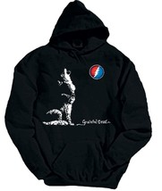 Grateful Dead Dire Wolf Lightning Bolt Moon Pullover Hoodie LICENSED - $47.47+