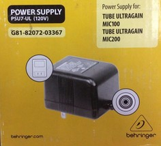 Behringer - PSU7-UL - 120V UL Replacement Power Supply - $12.82
