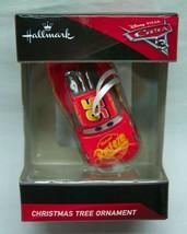 Walt Disney Cars LIGHTNING McQUEEN CAR HALLMARK CHRISTMAS HOLIDAY ORNAME... - $14.85