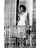 Dorothy Dandridge with drink on porch full length 18x24 Poster - $23.99