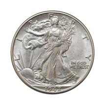 1942 D Walking Liberty Half Dollar - Gem BU / MS / UNC - $50.00