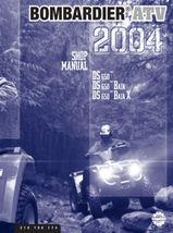Bombardier ATV DS 650, Baja, Baja X, 2004 Repair Shop Manual. FREE S&H 2... - $34.89