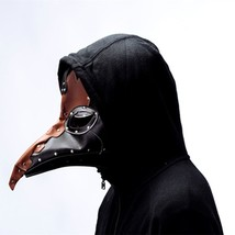 Plague Doctor Steampunk Mask Bird Nose Halloween Party Costume Cosplay B... - £26.40 GBP