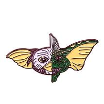 Gremlins pin Gizmo Mogwai brooch retro 80s horror film badge Christmas Halloween - $10.99+