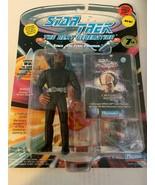 Star Trek The Next Generation Lieutenant Worf Action Figure in rescue ou... - $11.87