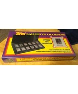 1988 TOPPS GALLERY OF CHAMPIONS~12 CARD ALUMINUM REPLICA SET~NEW & SEALED - $14.01