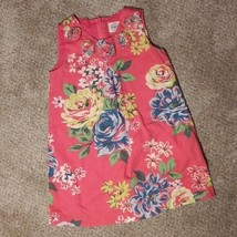 Mini Boden Floral Toddler Dress, Size 2-3 Years, Zippered - $19.99