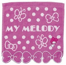 Marushin face towel Sanrio My Melody Mini Towel Lovely 100% cotton 3005025300 - $13.63