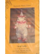 Lacy Lady Costume Party Bunny As Clown Pattern - $5.34