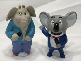 "2016 Mcdonalds Sing Happy Meal Toy #4 Meena Elephant 4"" tall + Buster Moon - $6.99"