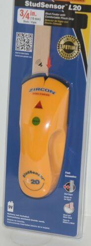 Zircon Studsensor L20 3/4 Inch Edge Finding Pinch Grip Wood Metal