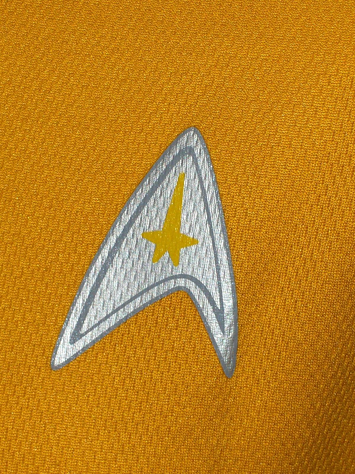 Kellogg's Star Trek Yellow T-Shirt Unisex Size Large  2009