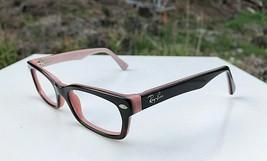 Nice Ray-Ban Jr Havana on Pink Eyeglasses Frames RB 1533 3580 No Lens 45... - $25.59
