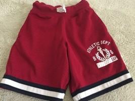 Gap Kids Boys Red Mesh Basketball Athletic Shorts Pockets XS 4-5 - $7.38