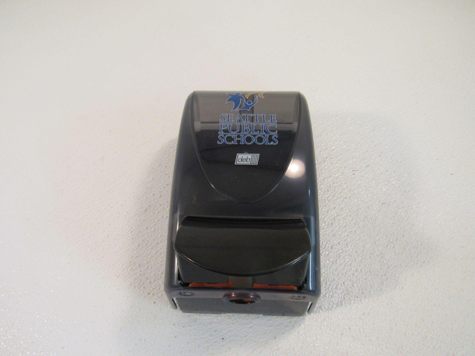 Deb Commercial Washroom Soap Dispenser Smoke/Black Proline Curve 30110