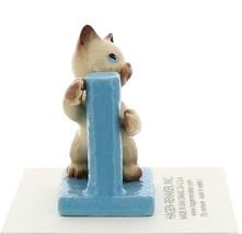 Hagen-Renaker Miniature Cat Figurine Siamese Kitten at Scratching Post image 2