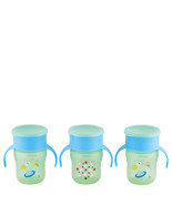Philips Avent My First Big Kid Cup Green/Blue 9m+ 360 degree BPA Free 3 ... - $15.20