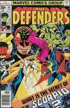 Marvel THE DEFENDERS (1972 Series) #48 FN - $2.49