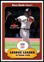 2001 Fleer Tradition #392 Barry Bonds NM-MT San Francisco Giants - $1.49