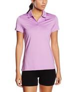 Nike Golf Women's Swoosh Mesh Dri-Fit Golf Polo 640344-510 Violet MSRP $75 - $11.57