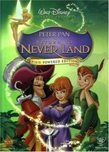 Disney Peter Pan Return to Never Land (DVD, 2007, Pixie Powered Edition)
