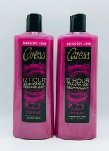 2 x Caress ADORE FOREVER Body Wash 12 HR Fragrance Technology Free Shipping - $29.99