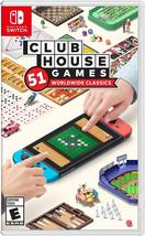 Clubhouse Games 51 Worldwide Classics Nintendo Switch - $36.90