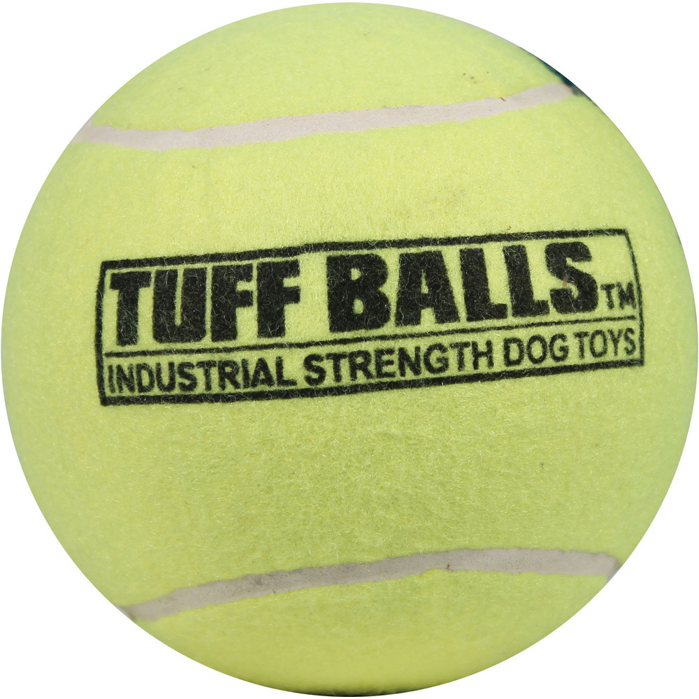 Primary image for Petsport Yellow Tuff Balls Dog Toy 6 Inch 713080701506