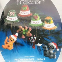 Paragon Christmas Collection Felt Ornament Kit Ringing in the Season App... - $49.35