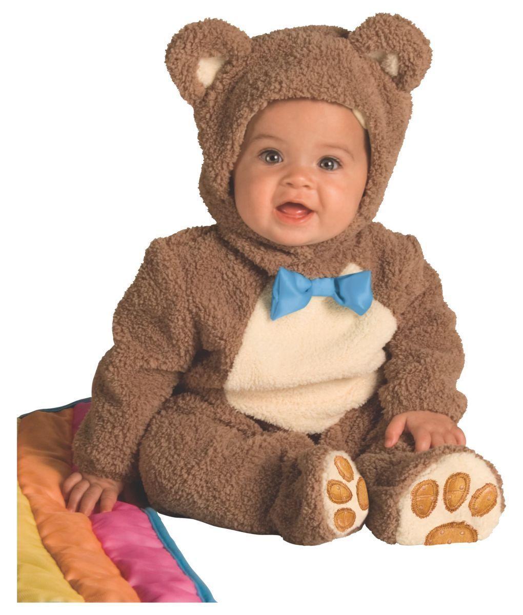 Rubies Oatmeal Brown Bear Rainbow Blanket Infant Halloween Costume 885356