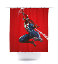 Playstation PS4 Marvel Spider-man Shower Curtain - $29.99+