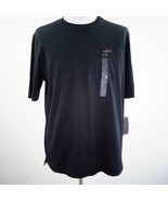 Greg Norman Lux Shark Classic Fit Black T Shirt Mens Sz L New - $28.93