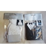 300 Pc Bridal Groom Tuxedo Party Gift Boxes Packaging Bags Wedding Candy... - $93.49