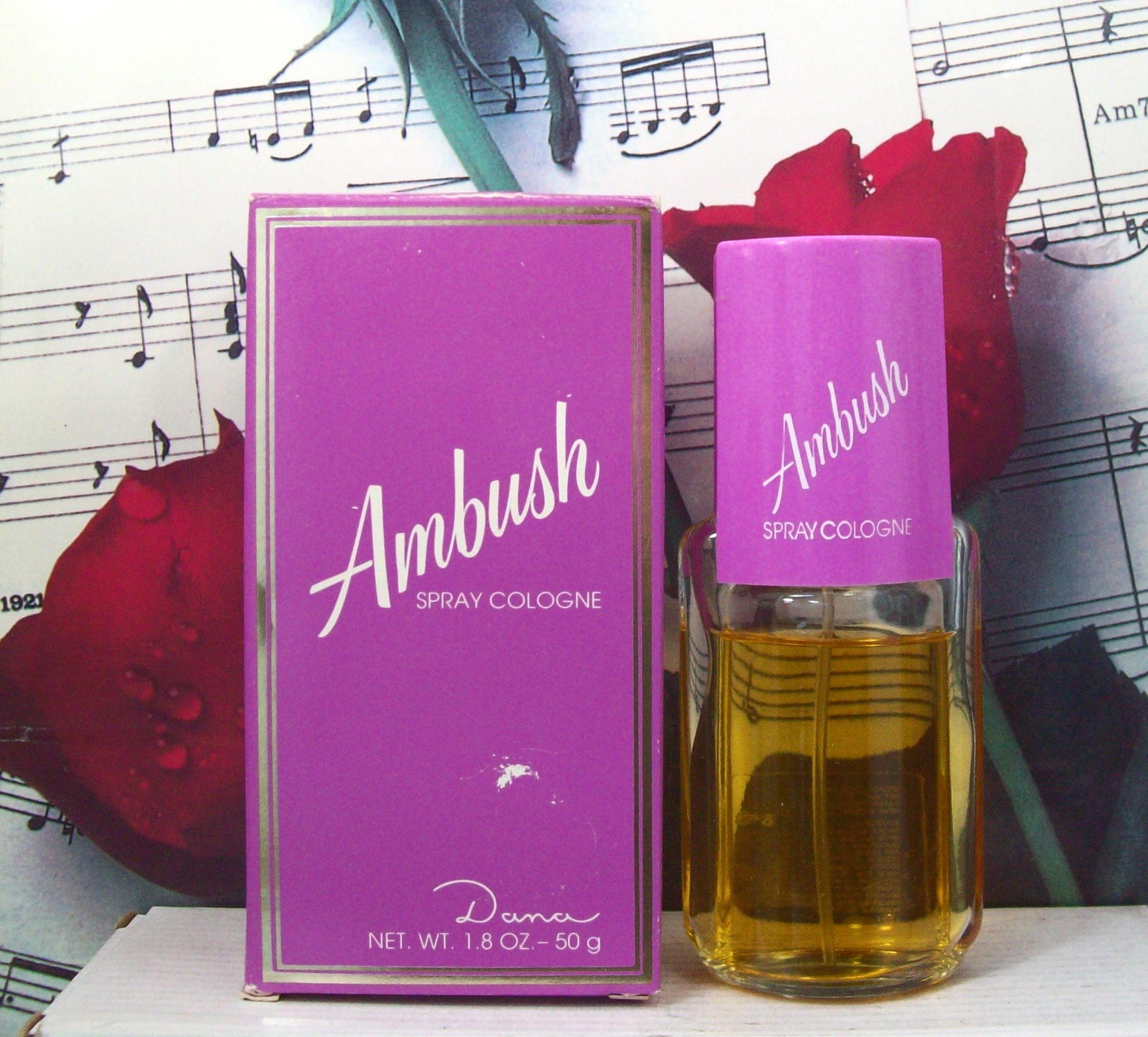 Primary image for Ambush By Dana Spray Cologne 1.8 FL. OZ. NWB.
