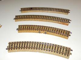 MARKLIN- HO - METAL 2 RAIL ASSORTED  RADIUS CURVE TRACKS - 4 SECTIONS- G... - $3.10