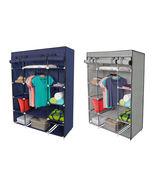 "53"" Portable Closet Wardrobe Clothes Rack Storage Organizer With Shelf B... - $31.00"