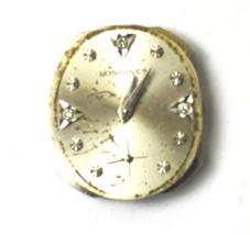 Longines 370 17J Mechanical Wind Watch Movement Running Diamond Markers - $47.51