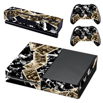 Best rock wallpapers decal for xbox one console and 2 controllers - $15.00