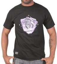 Bloodbath Crew Bldbth Rosette Schwarzer Tee Leben Familie Sacrifice Tod T-Shirt