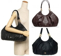 Coach F12155 Lily Shoulder Bag In Refined Natural Pebble Leather - €93,14 EUR+
