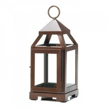 Copper Mini Contemporary Lantern - $18.43
