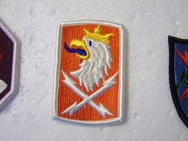 Army Full Color Patch 22nd Signal Brigade Current MANUFACTURER:K6 - $3.00
