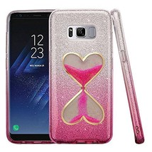 Galaxy S8 Plus Case,Sandglass Handmade Hibrid 3-Layers Slim Fit Gradient... - $10.88
