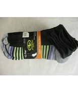 Athletic Works Women's No Show Socks Assorted Colors 10 Pack - $9.89