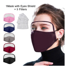 3 pcs 2020 NEW COTTON MASK WITH EYES SHIELD - $24.99