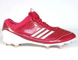 Adidas AdiZero Diamond King Red Low Metal Baseball Softball Cleats  Men  39 s NEW b623b88c43fce