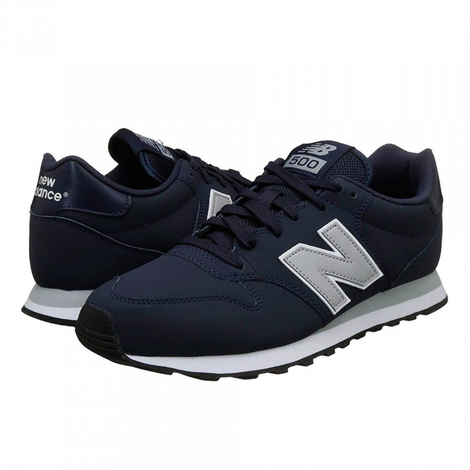New Balance 500 Navy Blue GM500NAG Mens Running Shoes Size 11.5